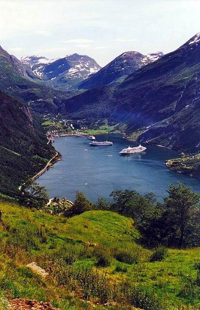 """""""Geirangerfjord in Norway"""""""