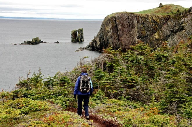 """Sublime hiking along the Skerwink Trail"""