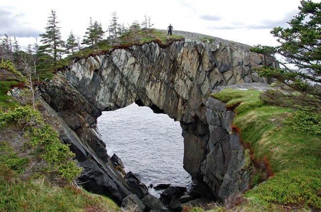 """""""Berry Head sea arch"""""""