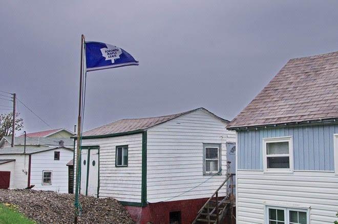 """A die-hard Maple Leafs fan on Fogo Island"""