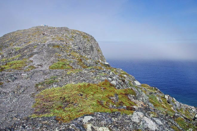 """The summit of Brimstone Head; it's only a 20 minute walk to the top"""