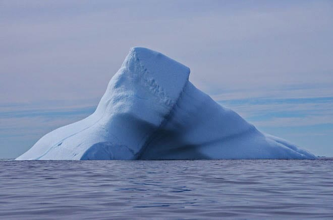 """An iceberg on the move"""