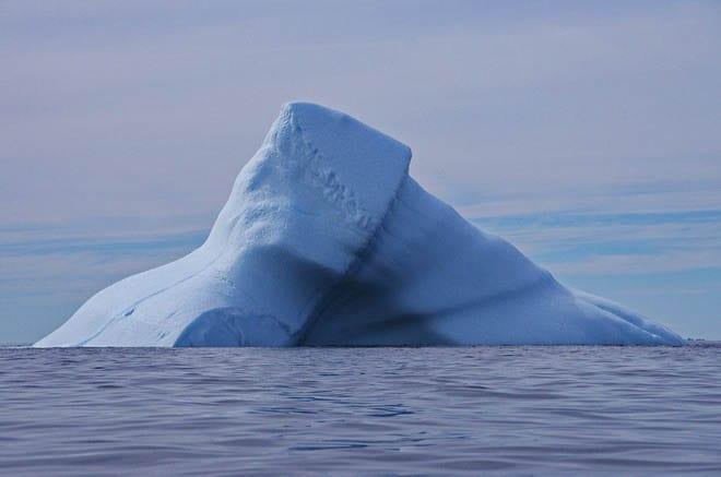 """An iceberg on the move"""