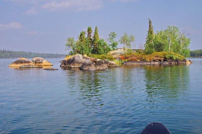 """Every island looks beautiful - with slabs of granite"""