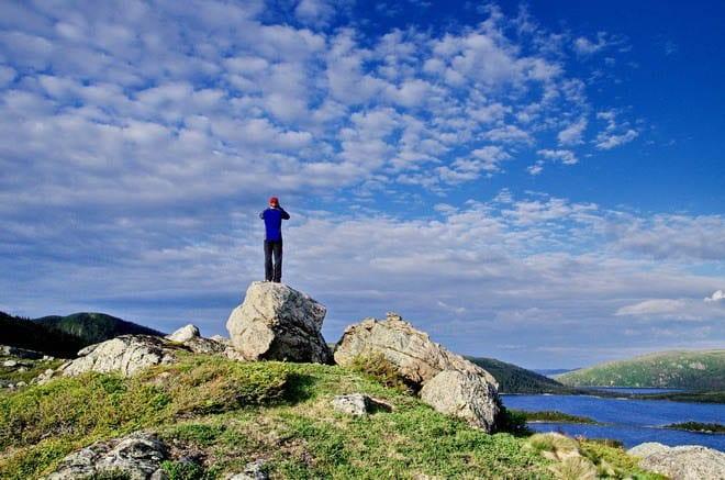 """The Long Range Traverse in Newfoundland"""