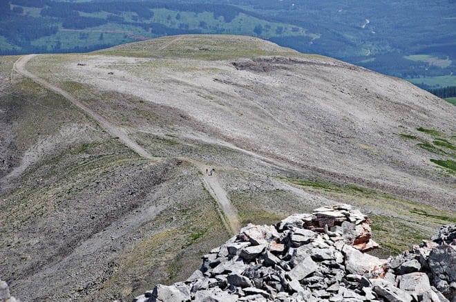 """The hike to Moose Mountain"""