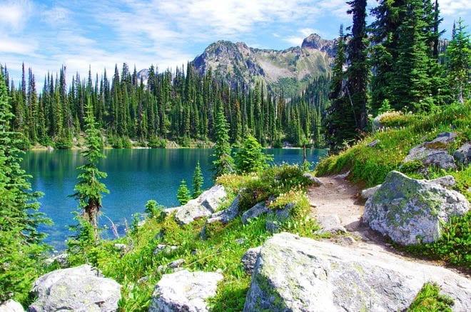 Eva Lake, Mount Revelstoke National Park