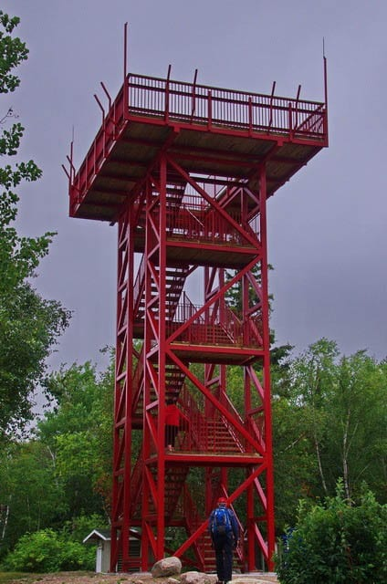 """""""A viewing tower at the north end of the island"""""""