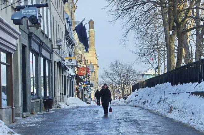 Walking in Old Quebec