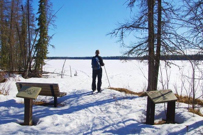 Crimson Lake near Rocky Mountain House