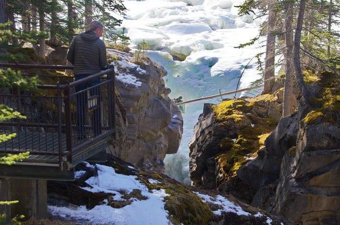 Siffleur Falls, Alberta