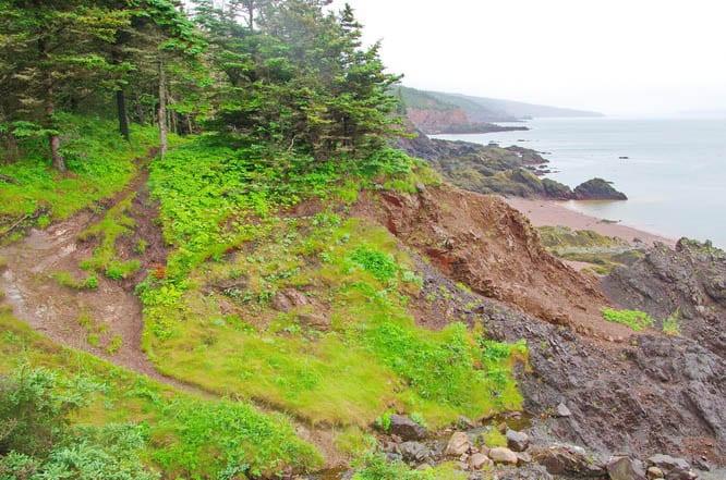 The Coastal Trail, Cape Chignecto Provincial Park