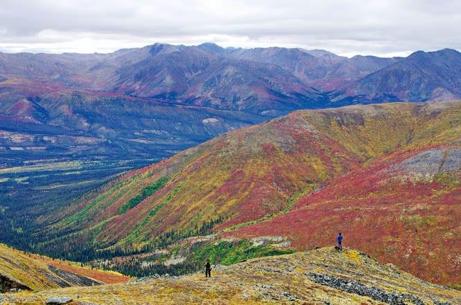 En route to Grizzly Lake, Tombstone Mountains, Yukon Territory