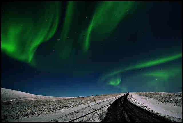 Northern lights in Iceland - Photo credit: Eirasi