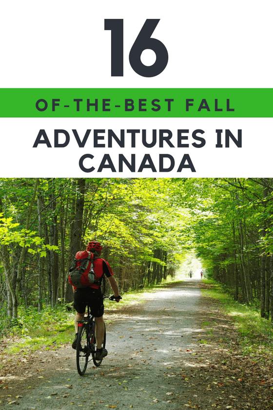16 of the Best Fall Adventures & Activities in Canada