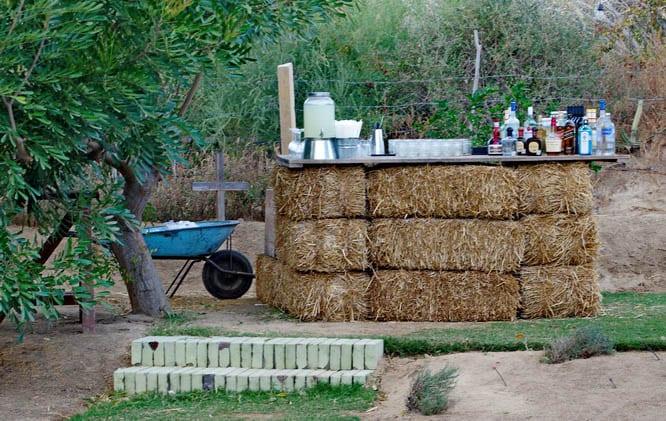 Bar set up - Flora Farm, Mexico
