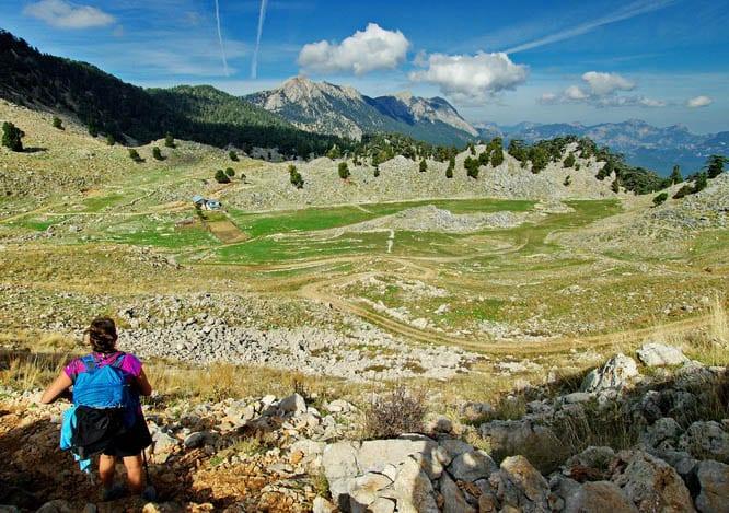 Hiking on the Lycian Way in Turkey