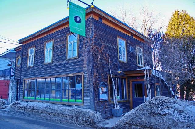 Le Mouton Noir Restaurant Baie St Paul Menu