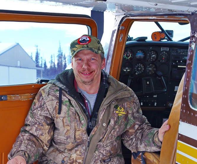 Our pilot John Ostashek from Rocking Star Adventures