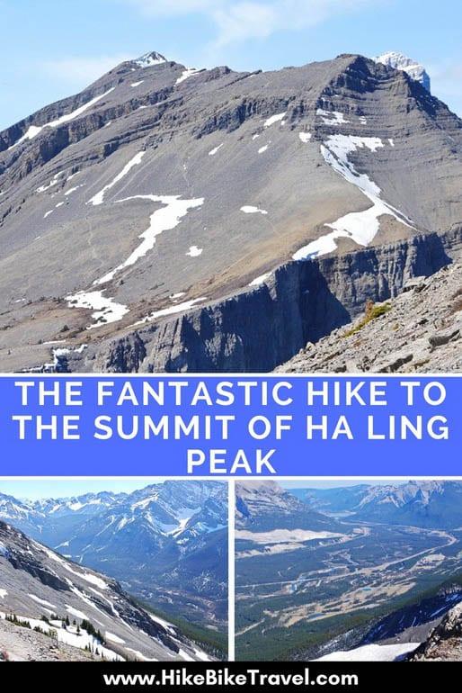 The fantastic hike to the summit of Ha Ling Peak