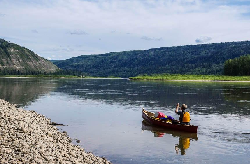 Best canoe trip of 2016 - the Peace River in Alberta