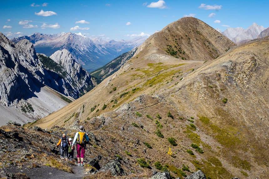 The Fantastic Pocaterra Ridge Hike in Kananaskis Country