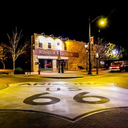 Winslow, Arizona - A Trip Back in Time