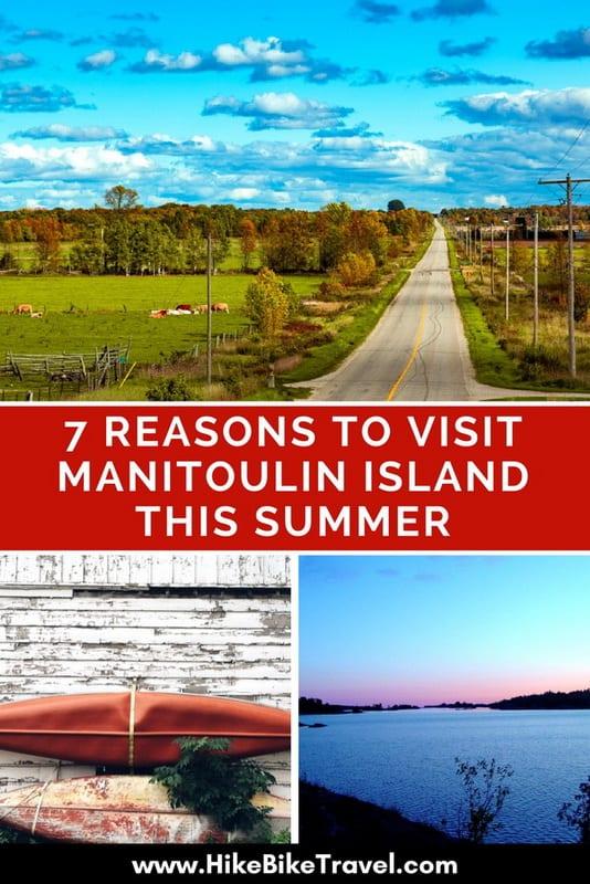 7 Reasons to Visit Manitoulin Island This Summer