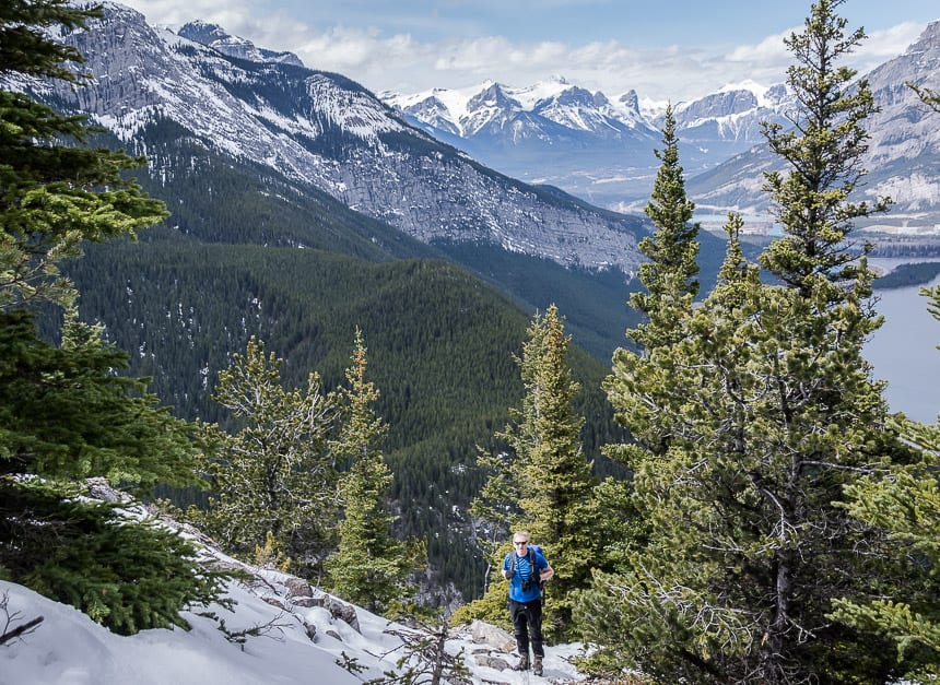 The Heart Mountain Hike near Canmore