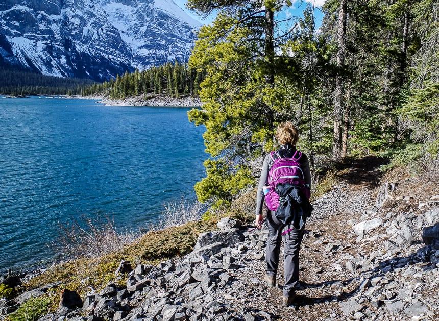 A Loop Hike Around Beautiful Upper Kananasksis Lake