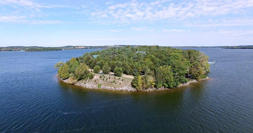 Island Spirits Retreat, Grasshopper Island, Rice Lake, Ontario