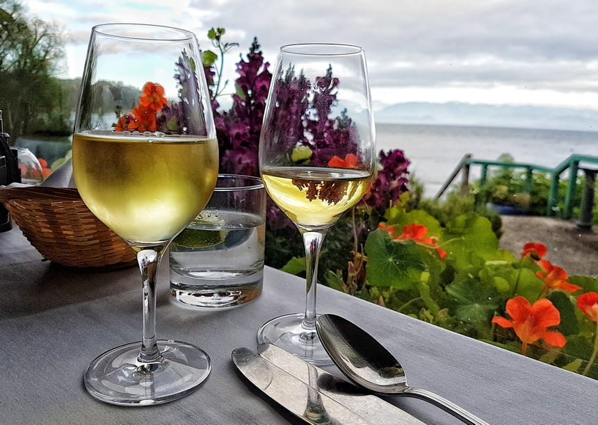 Enjoy both fine and bistro style dining with a view at Sooke Harbour House