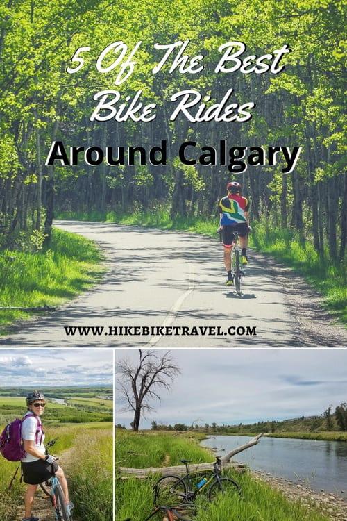 5 of the best bike rides around Calgary