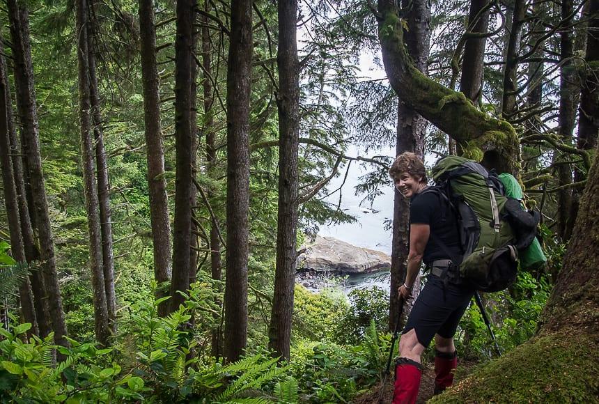 A Four Day Hiking Trip on the Juan de Fuca Trail