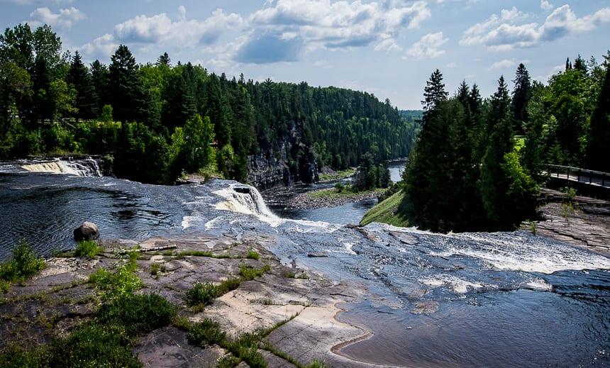A Trip to Kakabeka Falls near Thunder Bay