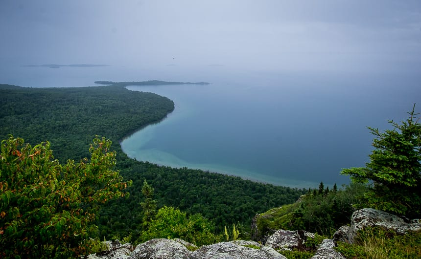 The Top of the Giant Hike in Northwest Ontario