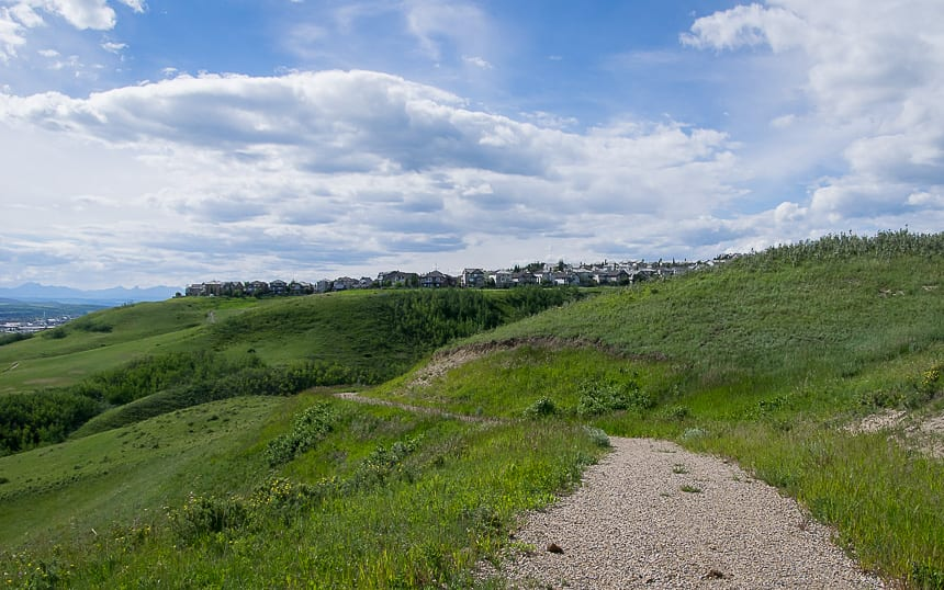 Biking the Glenbow Ranch Section of the Trans-Canada Trail