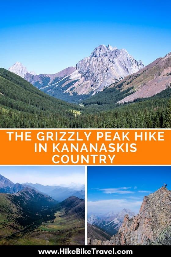 The Grizzly Peak Hike in Kananaskis Country, Alberta