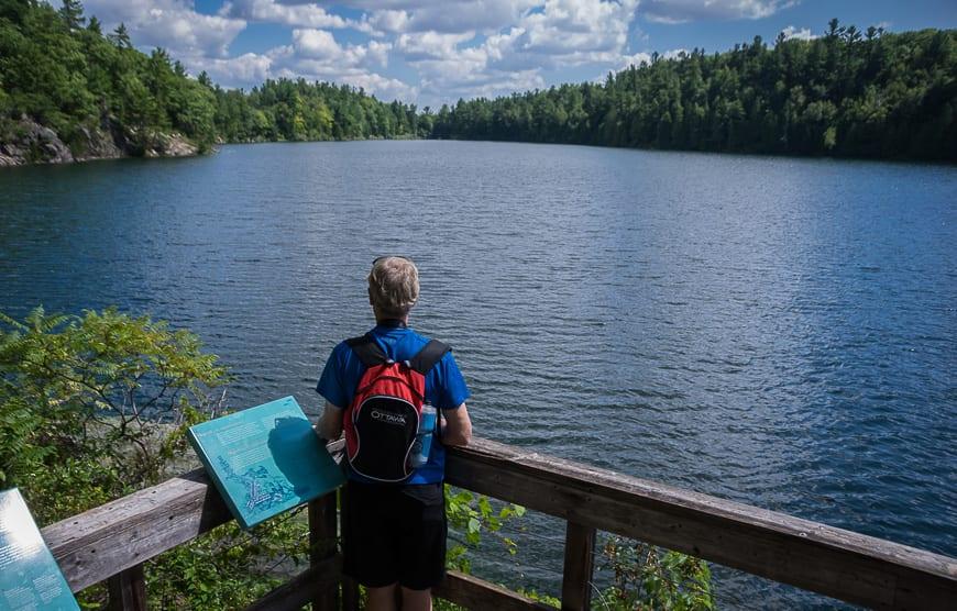 The Secret of Pink Lake in Gatineau Park, Quebec