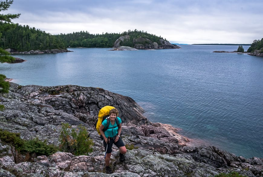A Challenging Hike on the Lake Superior Coastal Trail