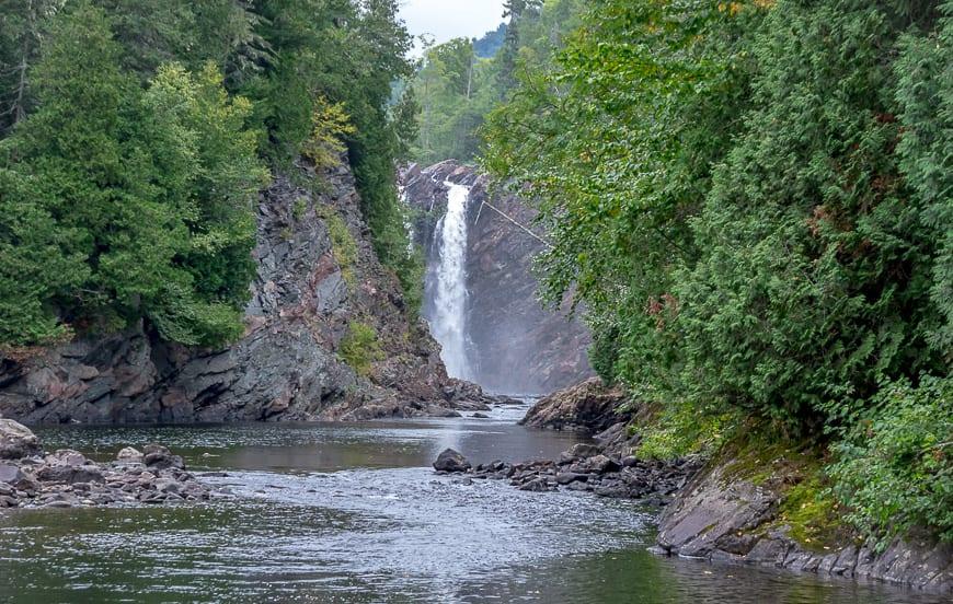The Hike to Agawa Falls in Northern Ontario