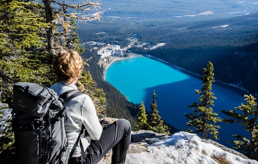 The Lake Agnes – Big Beehive Hike
