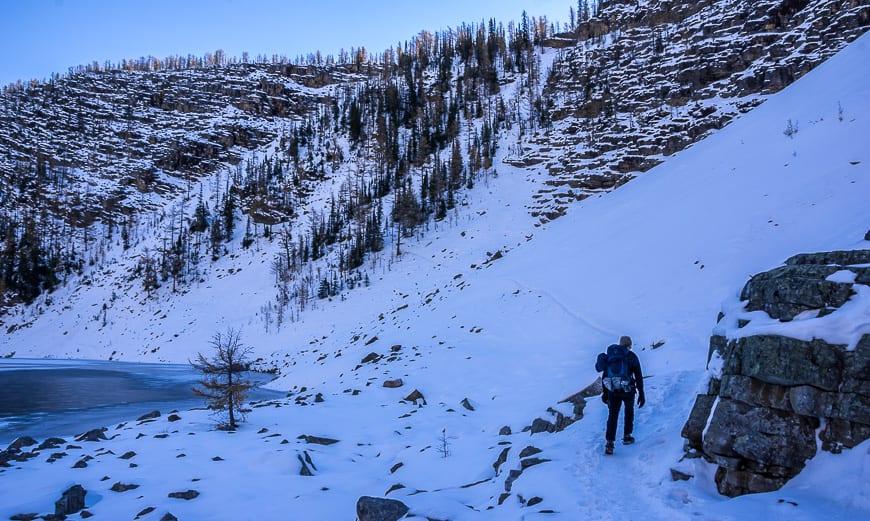 The Lake Agnes - Big Beehive Hike